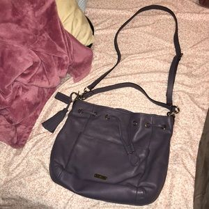 SALE 🏷 Coach Purple Drawstring Shoulder Bag